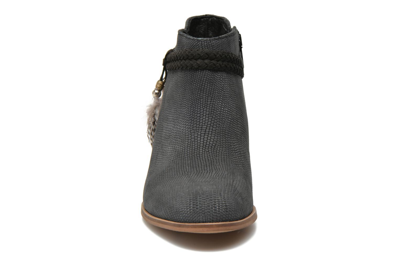Bottines et boots Schmoove Woman Secret Boots Geko Bleu vue portées chaussures