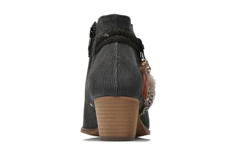 Bottines et boots Schmoove Woman Secret Boots Geko Bleu vue droite