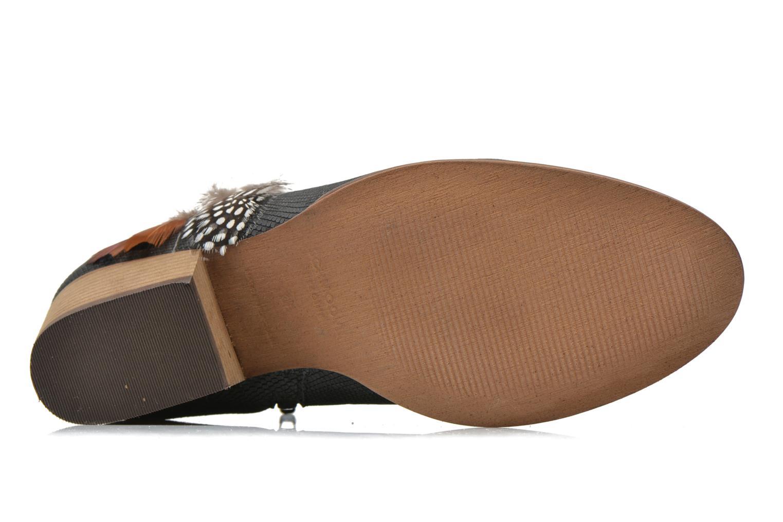 Bottines et boots Schmoove Woman Secret Boots Geko Bleu vue haut
