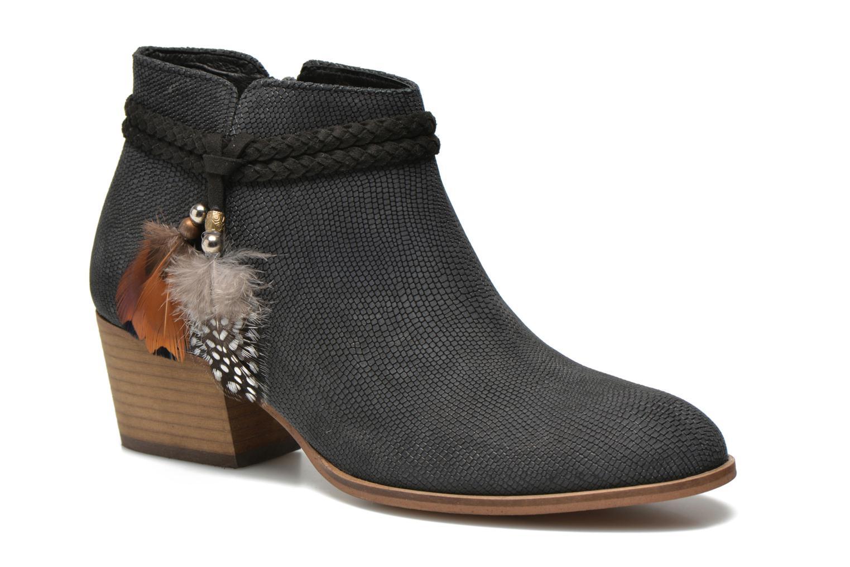 Bottines et boots Schmoove Woman Secret Boots Geko Bleu vue détail/paire