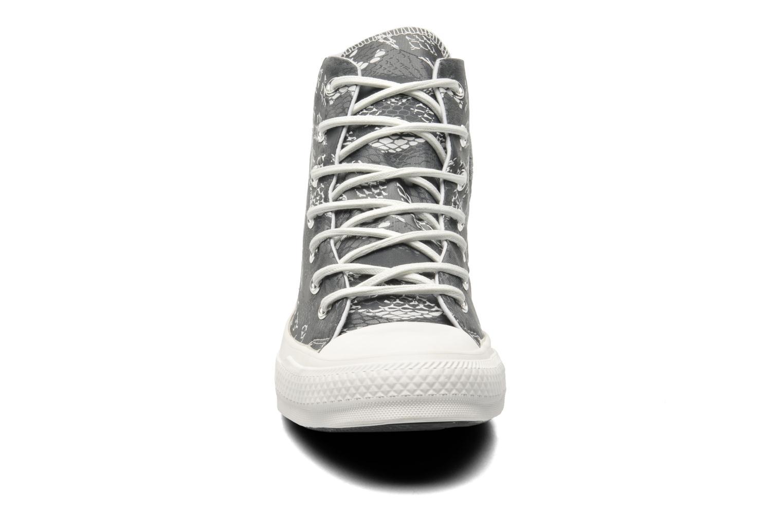 Baskets Converse Chuck Taylor Reptile Print Hi W Noir vue portées chaussures