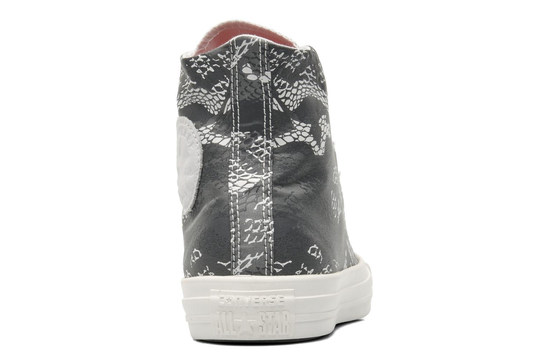 Sneaker Converse Chuck Taylor Reptile Print Hi W schwarz ansicht von rechts