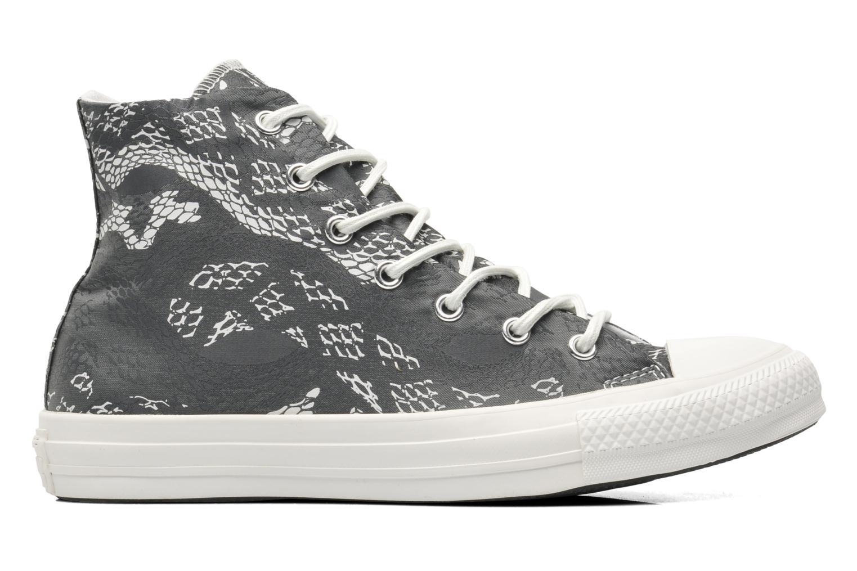 Sneaker Converse Chuck Taylor Reptile Print Hi W schwarz ansicht von hinten