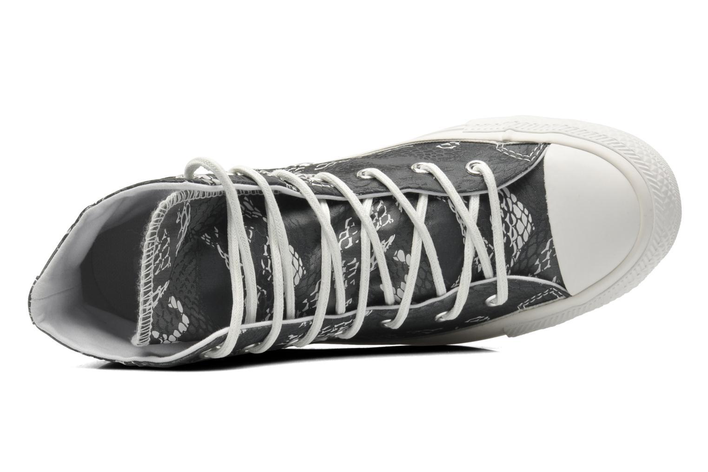 Sneaker Converse Chuck Taylor Reptile Print Hi W schwarz ansicht von links