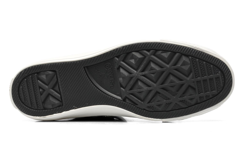 Sneaker Converse Chuck Taylor Reptile Print Hi W schwarz ansicht von oben
