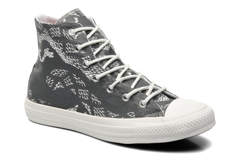 Sneakers Converse Chuck Taylor Reptile Print Hi W Sort detaljeret billede af skoene