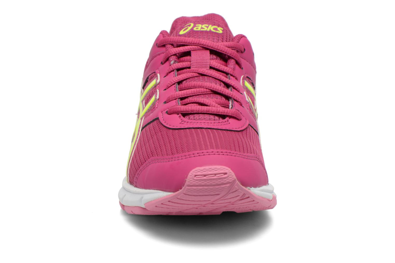 Baskets Asics Gel-Galaxy 8 Gs Rose vue portées chaussures