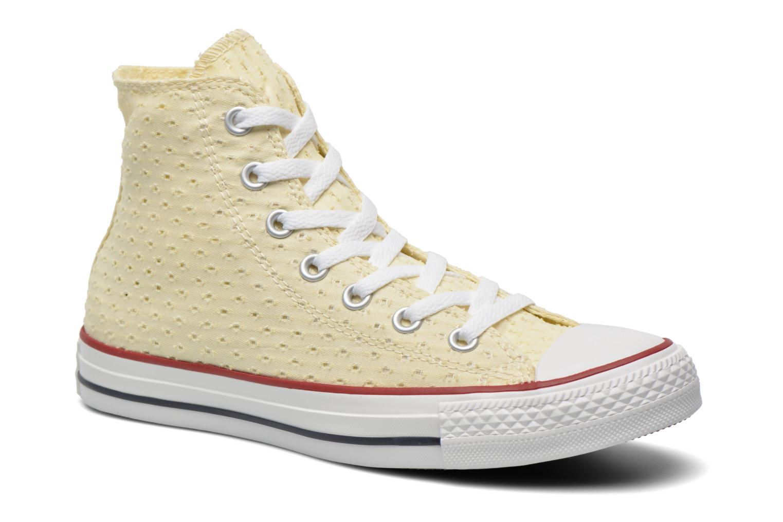 Baskets Converse Chuck Taylor All Star Perf Cvs Hi W Beige vue détail/paire