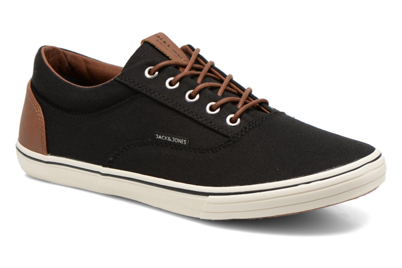 Sneakers Jack & Jones JJ Vision Sort detaljeret billede af skoene