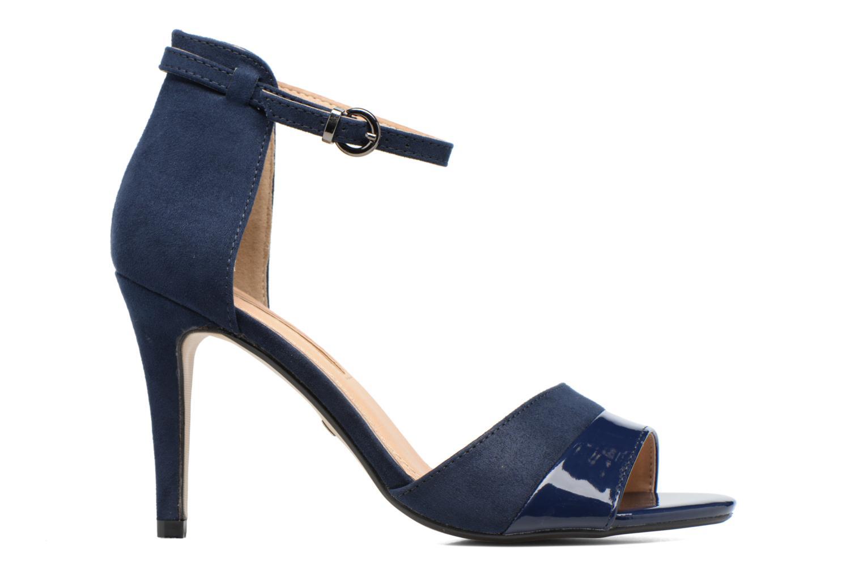 Sandalen Buffalo Olivia blau ansicht von hinten