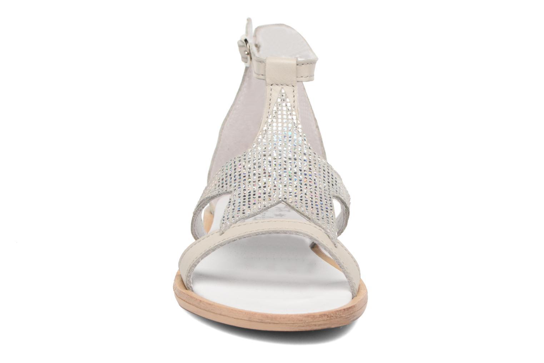 Sandales et nu-pieds Acebo's Constellé Argent vue portées chaussures