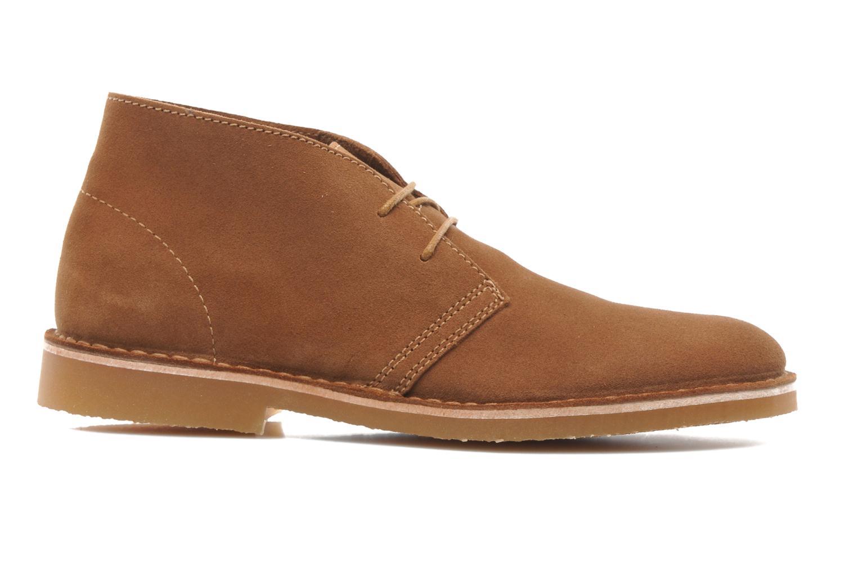 Chaussures à lacets Selected Homme Sh Leon Marron vue derrière