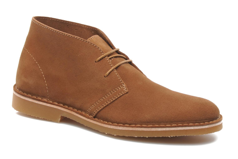 Chaussures à lacets Selected Homme Sh Leon Marron vue détail/paire