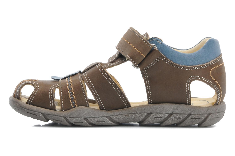 Sandali e scarpe aperte Primigi LAKERS-E Marrone immagine frontale