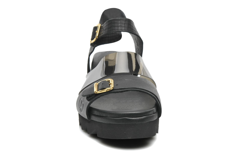 Sandales et nu-pieds Dolfie Nina Noir vue portées chaussures