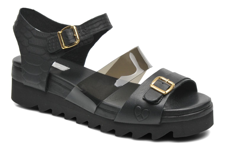 Sandales et nu-pieds Dolfie Nina Noir vue détail/paire