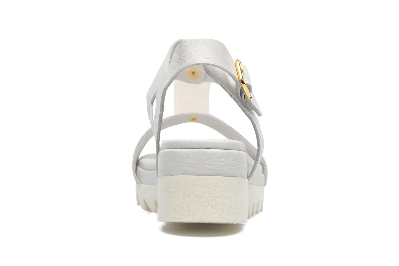 Sandali e scarpe aperte Dolfie Mika Bianco immagine destra