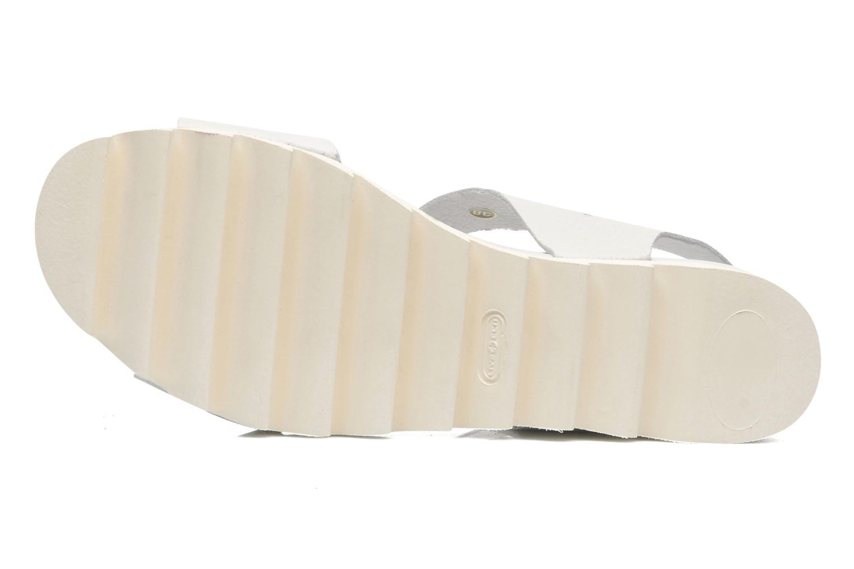 Mika White leather