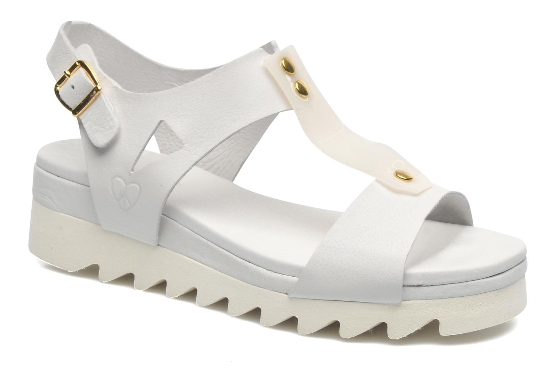 Sandales et nu-pieds Dolfie Mika Blanc vue détail/paire