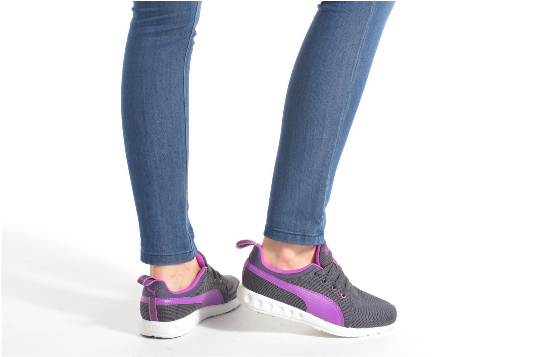 Chaussures de sport Puma Carson Runner Wn's Rose vue bas / vue portée sac