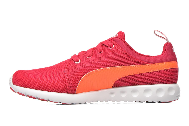 Chaussures de sport Puma Carson Runner Wn's Rose vue face