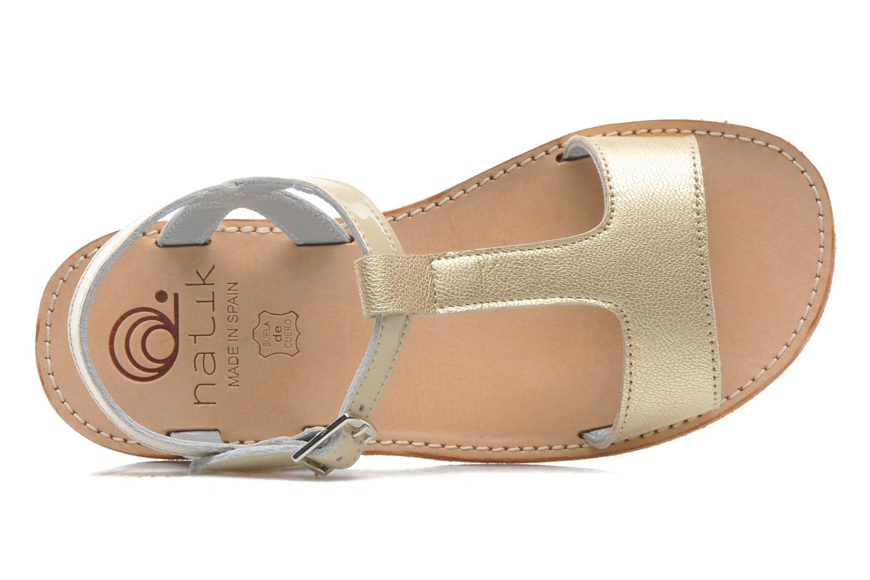 Sandales et nu-pieds Natik Olympe Beige vue gauche