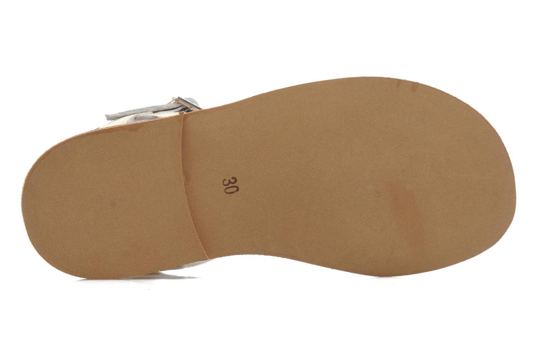 Sandales et nu-pieds Natik Olympe Beige vue haut
