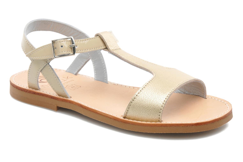 Sandales et nu-pieds Natik Olympe Beige vue détail/paire