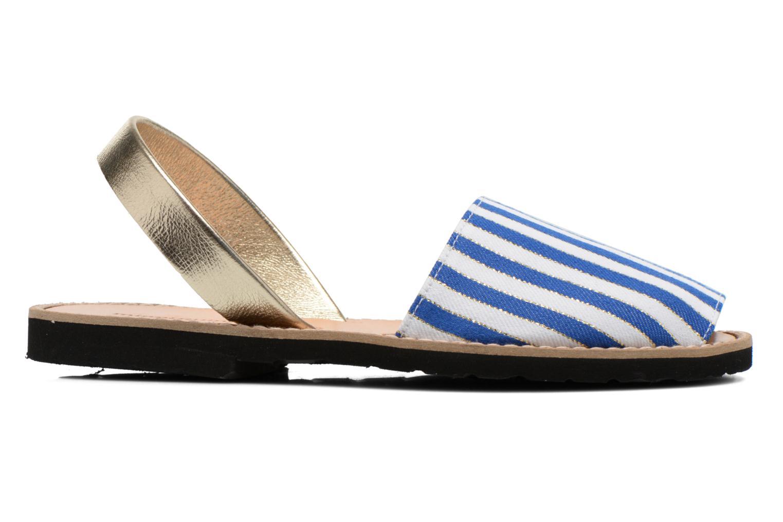 Sandales et nu-pieds MINORQUINES Avarca Multicolore vue derrière