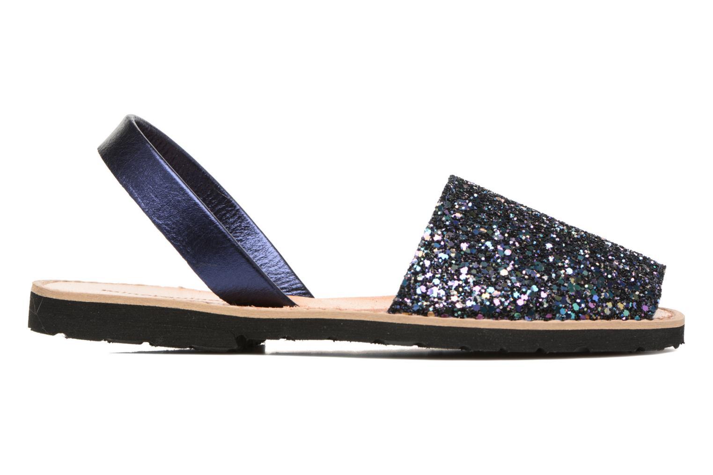 Sandals MINORQUINES Avarca Blue back view