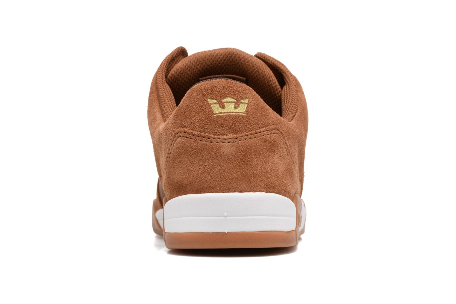 Sport shoes Supra Ellington Brown view from the right