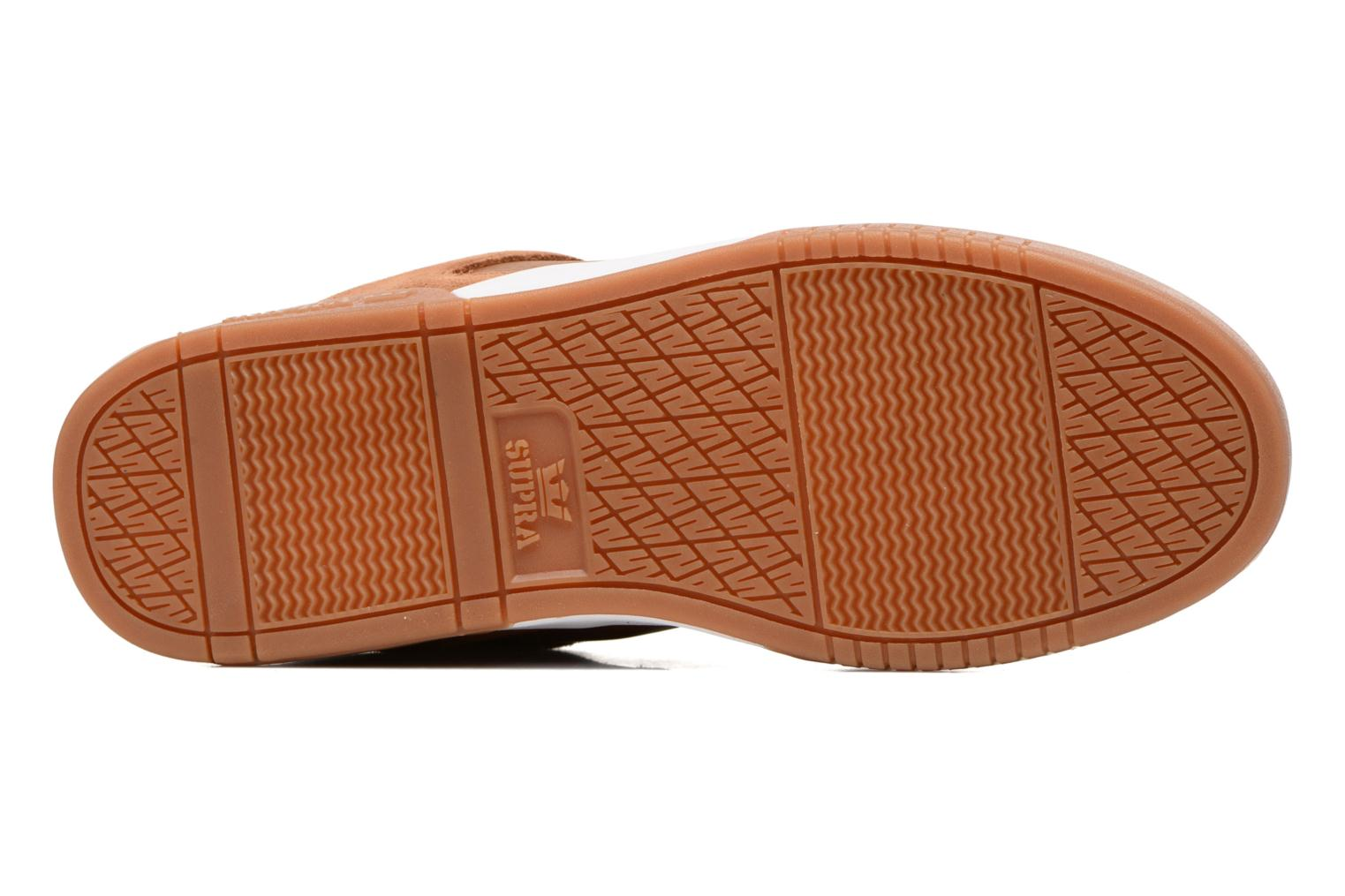 Sport shoes Supra Ellington Brown view from above