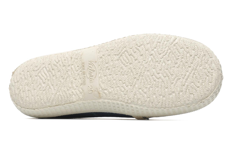 Sneakers Victoria Slip On Rayas Lona Azzurro immagine dall'alto