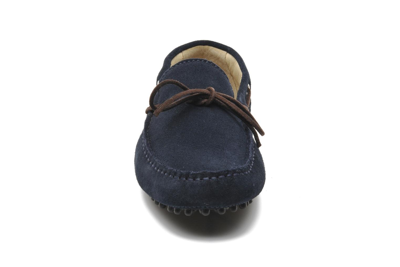 Mocassins Kost Tapalo Bleu vue portées chaussures