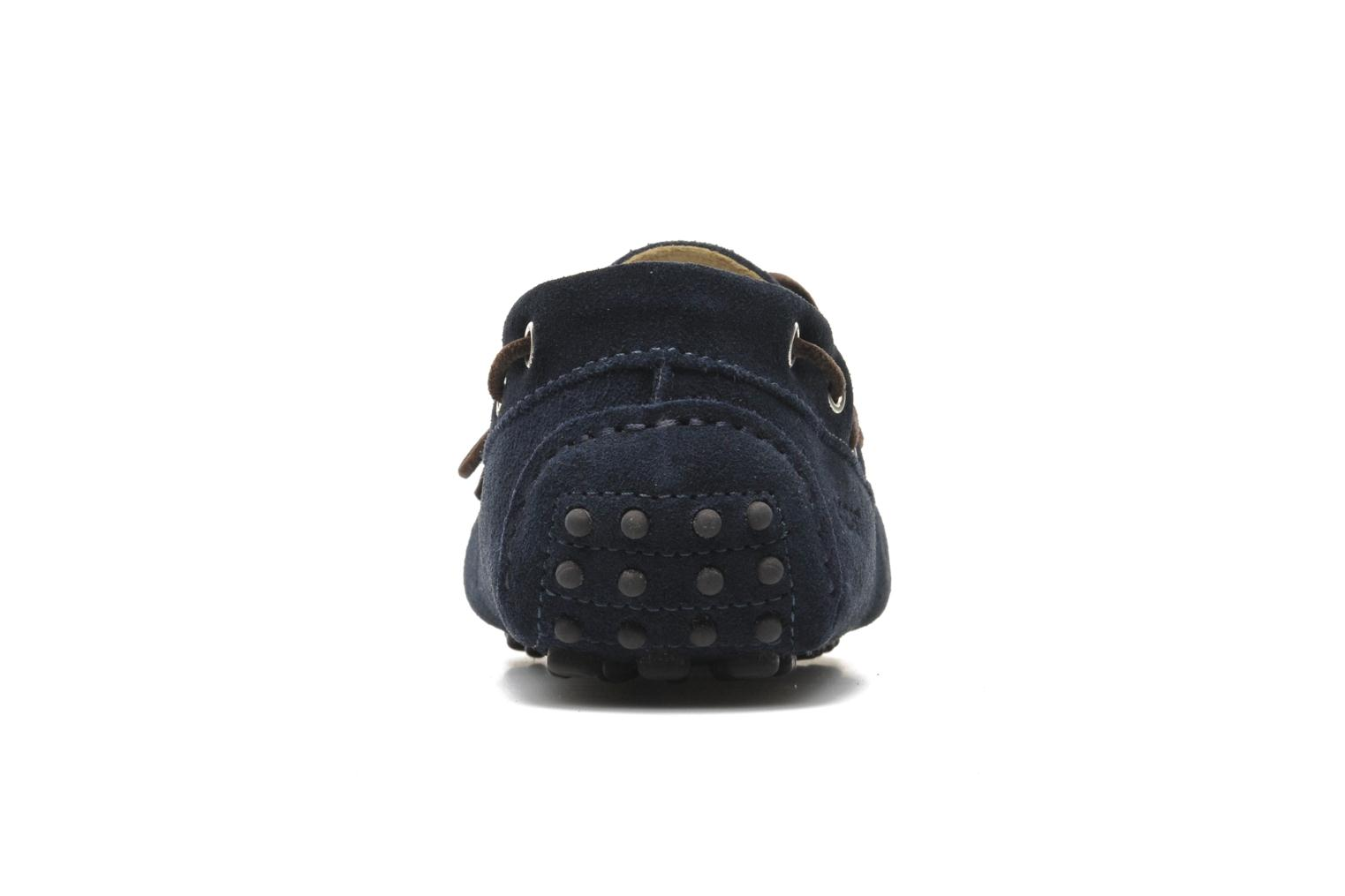 Loafers Kost Tapalo Blue view from the right