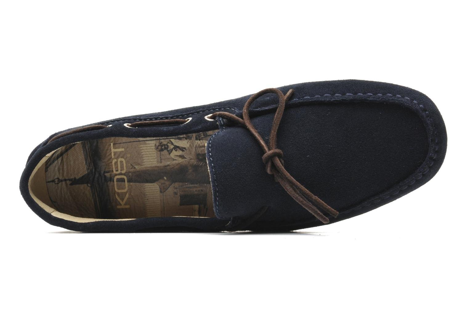 Loafers Kost Tapalo Blue view from the left