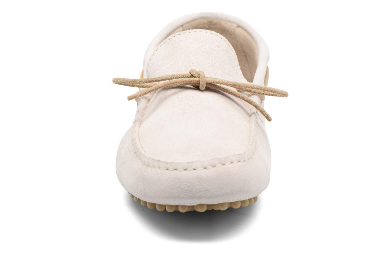 Mocassins Kost Tapalo Blanc vue portées chaussures