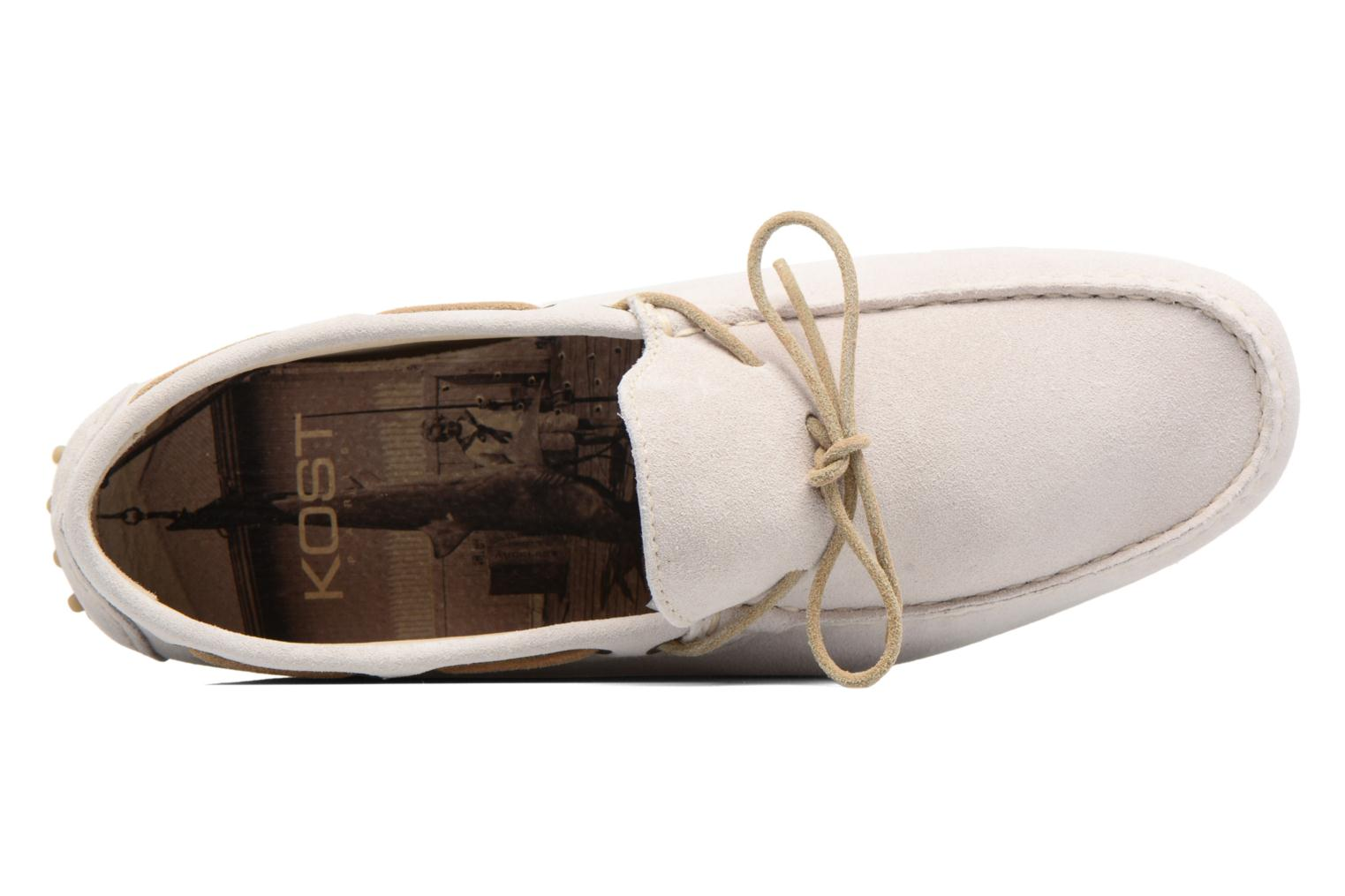 Loafers Kost Tapalo White view from the left