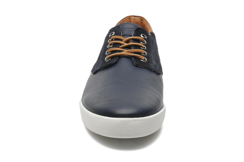 Baskets Kost Mitraille Bleu vue portées chaussures