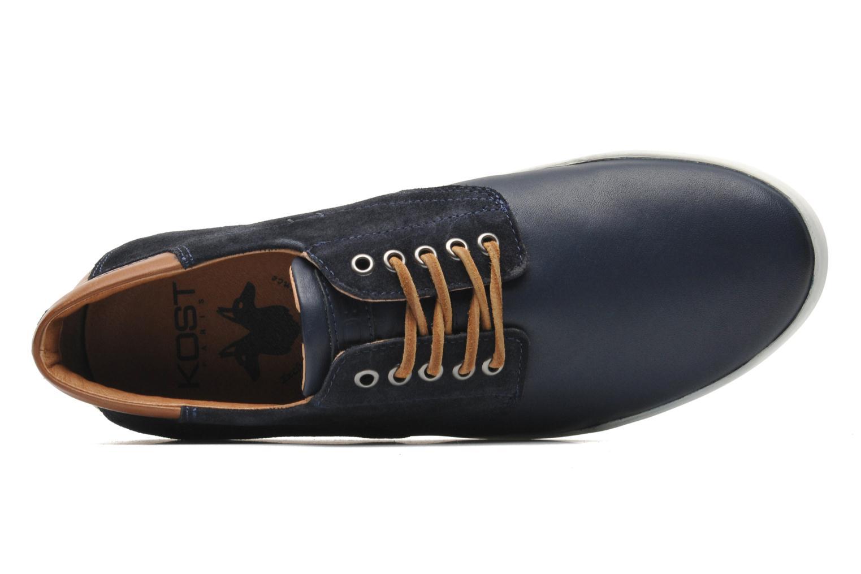 Sneaker Kost Mitraille blau ansicht von links
