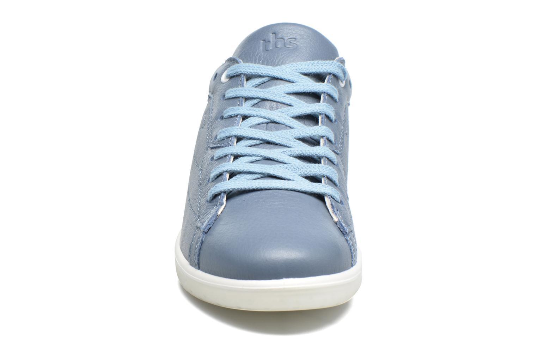 Baskets TBS Easy Walk Oxygen Bleu vue portées chaussures