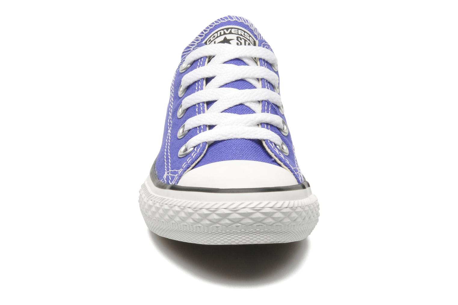 Trainers Converse Chuck Taylor All Star Season Ox K Purple model view