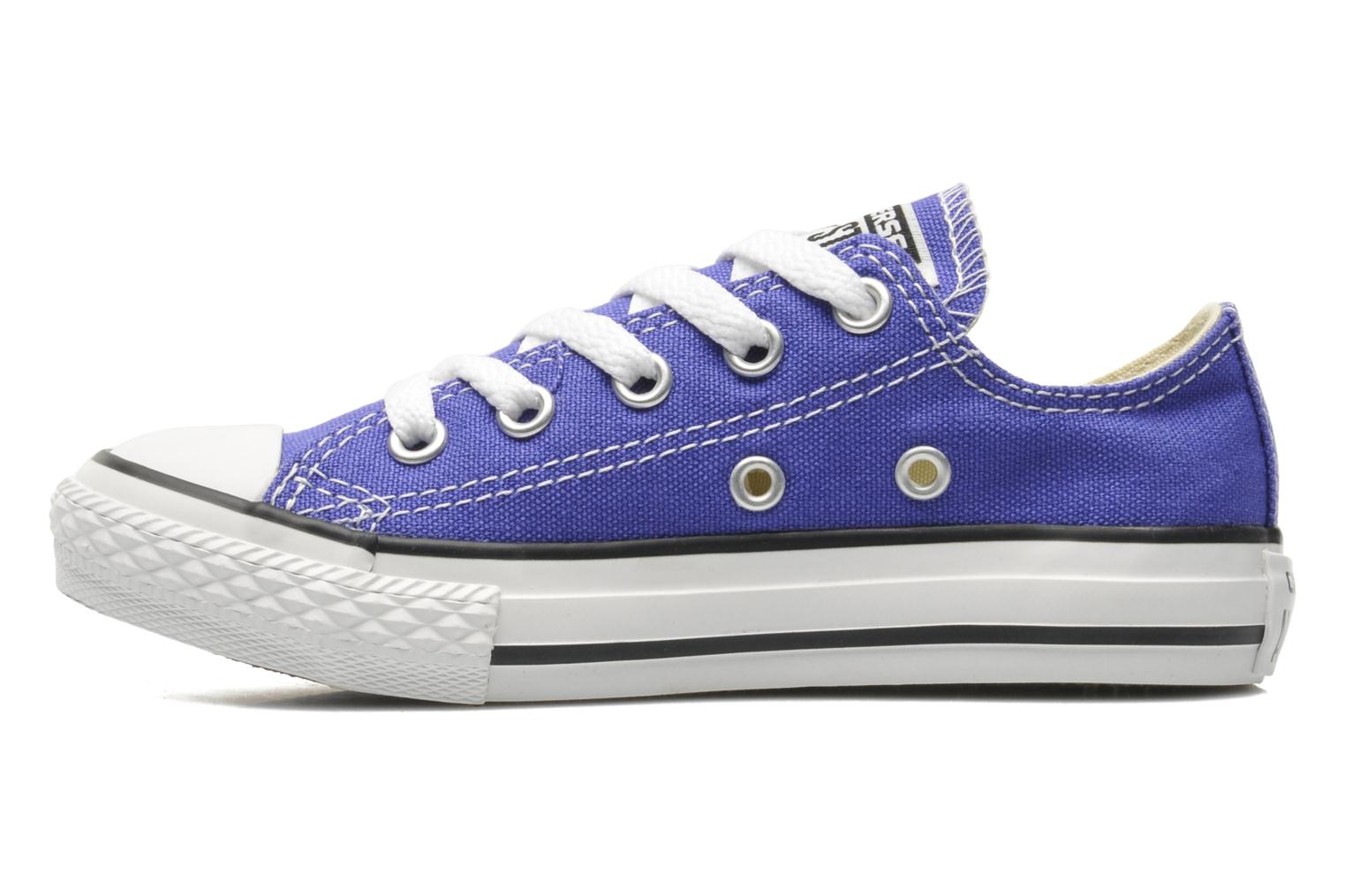 Baskets Converse Chuck Taylor All Star Season Ox K Violet vue face