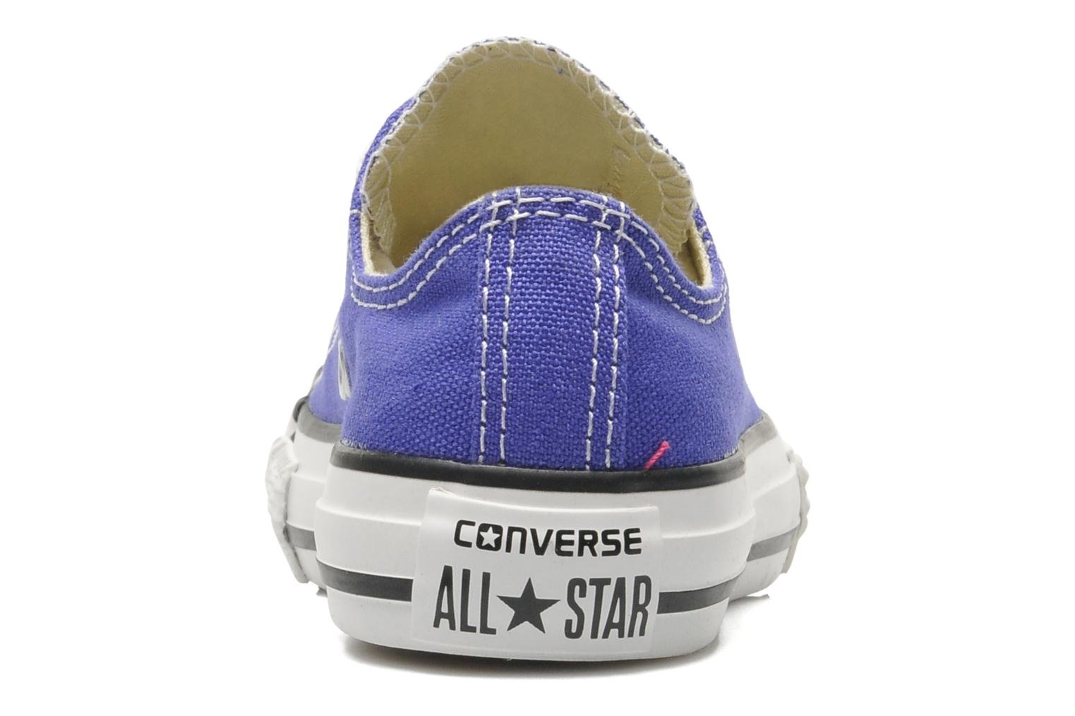 Trainers Converse Chuck Taylor All Star Season Ox K Purple view from the right