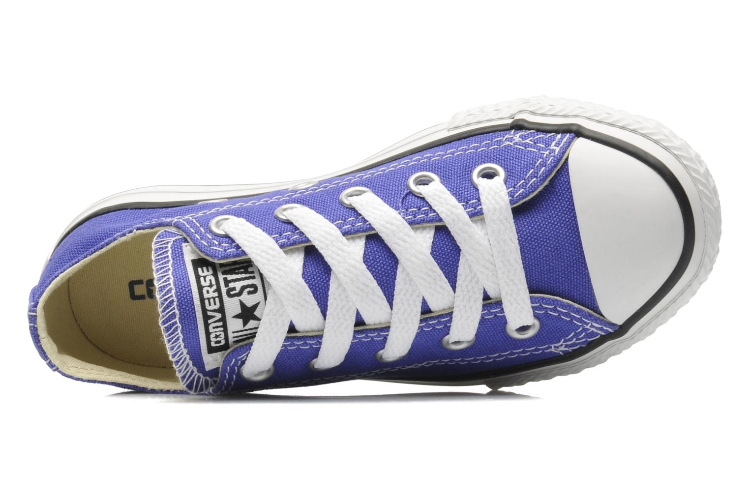 Trainers Converse Chuck Taylor All Star Season Ox K Purple view from the left