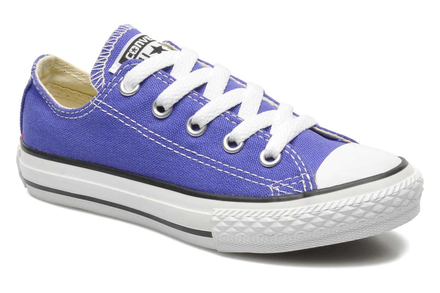 Trainers Converse Chuck Taylor All Star Season Ox K Purple detailed view/ Pair view
