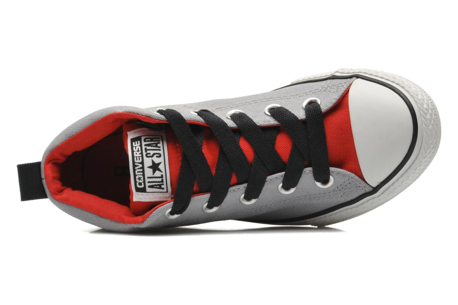 Chuck Taylor All Star Street Mid Gris/rouge
