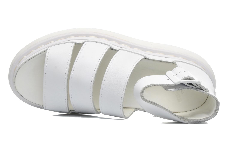 Sandales et nu-pieds Dr. Martens Clarissa Blanc vue gauche