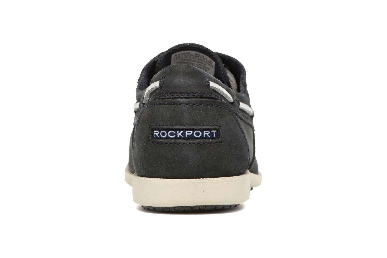 Zapatos con cordones Rockport 2-Eye Azul vista lateral derecha