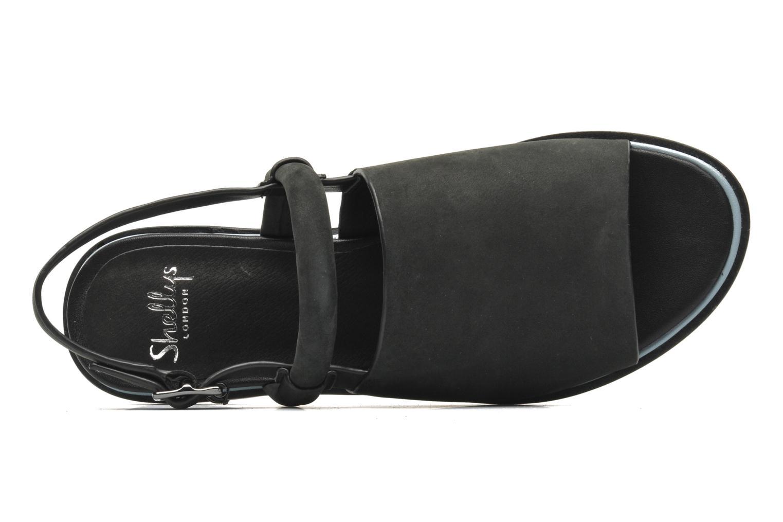 Sandales et nu-pieds Shellys London SALVANT Noir vue gauche